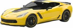 New-Auto-Art-1-18-Scale-Chevrolet-Corvette-C-7-R-yellow-Model-car-Japan