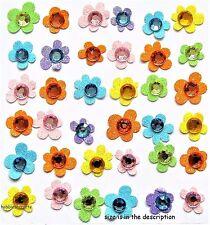 EK SUCCESS JOLEE'S BOUTIQUE 3-D GLITTER STICKERS -  FLOWER BABY GEMS FLOWERS