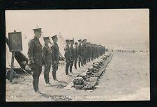 Dorset BLANDFORD CAMP Military A Company South Hants Hampshire c1900/10s? RP PPC
