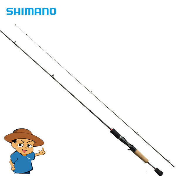 Shimano TROUT ONE AS B60SUL-F Super Ultra Light 6' trout fishing baitcasting rod