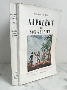Fleuriot-Di-Langle-Napoleone-E-il-Suo-Carceriere-Andre-Buona-1952