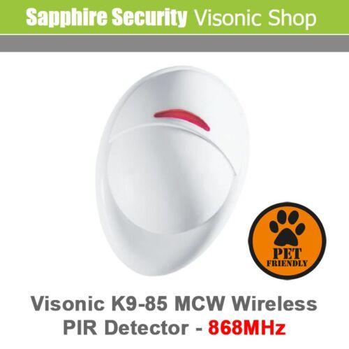 0-3592-B Visonic PowerMax NEXT K9-85MCW Pet Immune Wireless PIR Sensor 868mHz