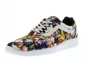 Details about New VANS Mens 8 Womens 9.5 ISO 1.5 Cuban Floral Black Running Athletic Sneakers