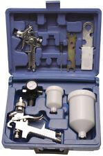 BGS Werkzeug PRO+ Druckluft-Farbsprühpistolen-Set Lackierpistole Farbpistole