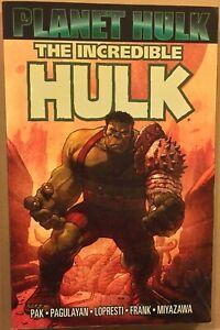 The Incredible Hulk - Planet Hulk  - tpb - VF/NM - Pak - Pagulayan - Marvel