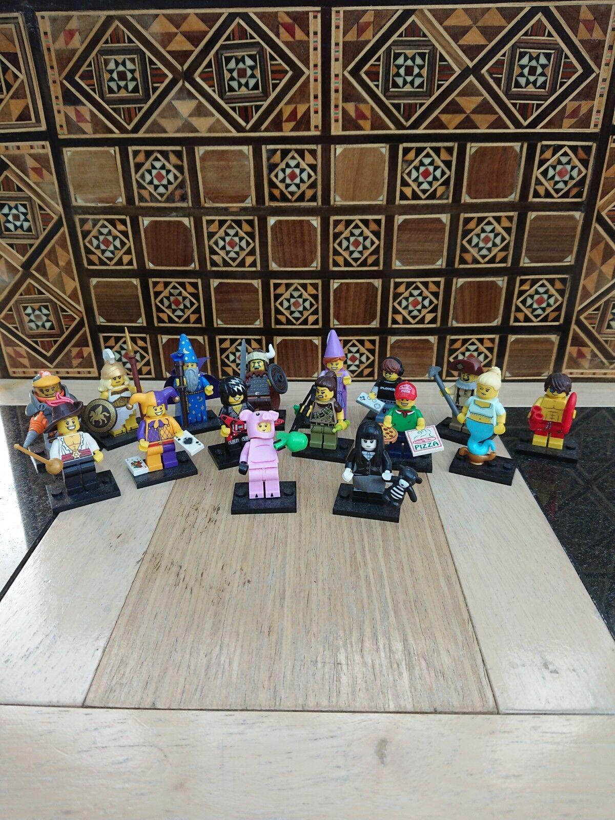 Lego Minifigures Series 12 - Full Set of 16 figures