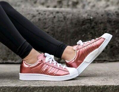 Geschäft Populär Adidas Superstar Boost Bb2270 Schuhe Rose