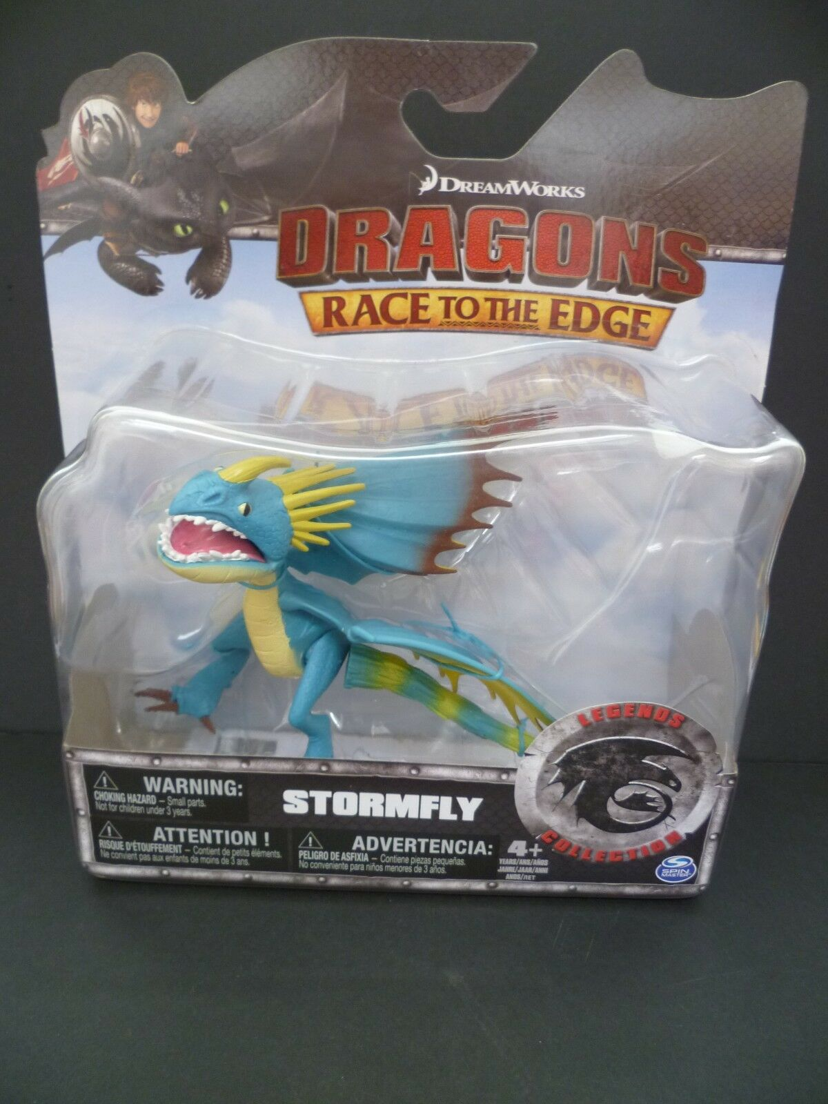How to Train Your Dragon STORMFLY Action Figure Figure Figure Race to the Edge 884536