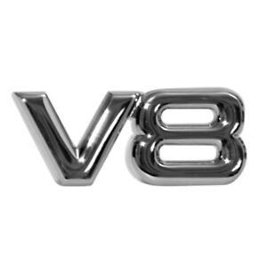 3D-Chrome-Metal-V8-Car-Auto-Tailgate-Sticker-Trunk-Lid-Emblem-Badge-Decal-New