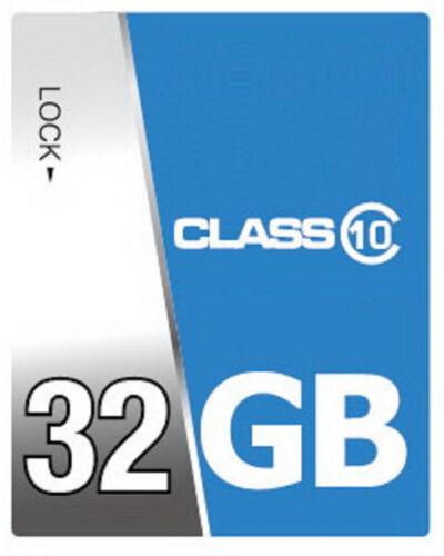 32 GB High Speed SDHC Class 10 Speicherkarte für Sony DSC RX 100 Kamera