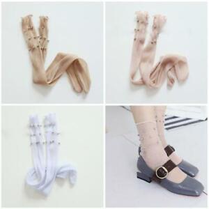 Sexy-Women-Glitter-Mesh-Beads-Socks-Shiny-Soft-Socks-Transparent-Elastic-Hosiery