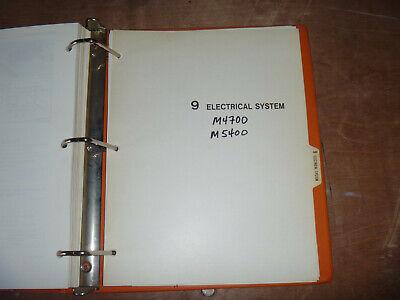 [SCHEMATICS_43NM]  Kubota M4700 M5400 Tractor Electrical Wiring Diagram Manual   eBay   Kubota Tractor Electrical Wiring Diagrams      eBay