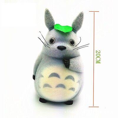 Cute My Neighbor Totoro Plush Figure Toy Doll Gift Saving Box 20cm New in Box