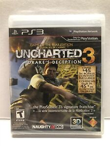 Uncharted 3: Drake's Deception - Game of the Year Edition - PS3 NEW SEALED