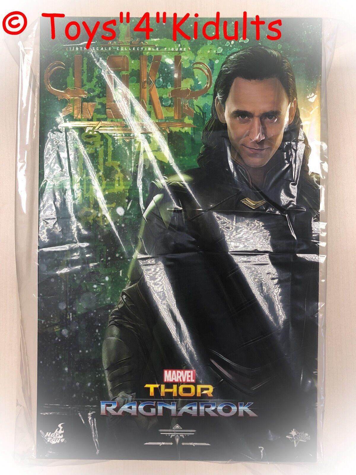 Hot Toys MMS 472 Ragnarok Gladiador Thor Loki Tom Hiddleston 16 Figura Nueva