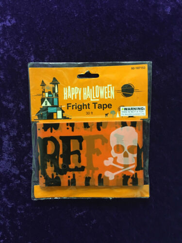 Halloween Fright Tape 6 Designs ADDITIONAL PACKAGES SHIP FREE