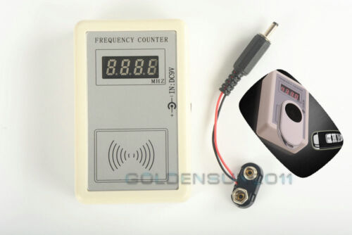 Autos Car RF Frequency Detector Tester Counter Gauge Checker Key Remote Fix RF A