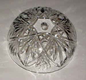 2 waterford KILKEA crystal LAMP SHADES / Globes / Parts NEW boxed SALE