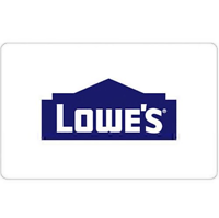 $200 Lowes Gift Card Get + Bonus $25 code (2 Cards)