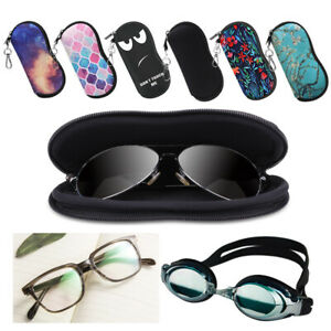 Ultra-Light-Portable-Neoprene-Zipper-Sunglasses-Reading-Glasses-Soft-Case-Pouch