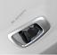 ABS Chrome Inner Child Seat Belt Panel Frame Cover Trim For Honda CRV 2017-18 k