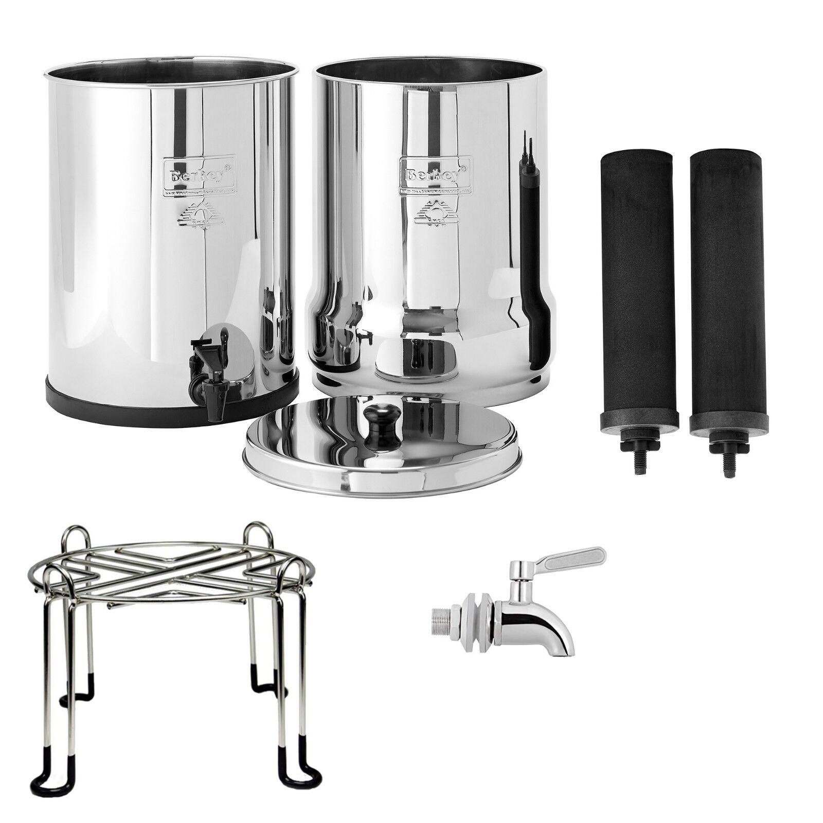 Royal Berkey Water Filter System w  Berkey Stainless Steel Stand & Spigot