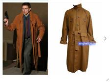 new Blade Runner Rick Deckard Trench Coat Costume Custom Made #ZZ57