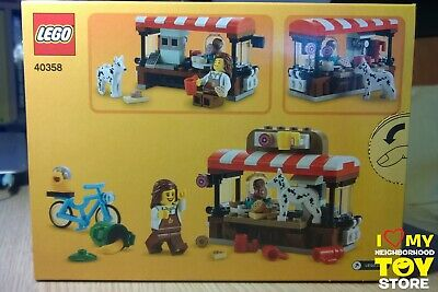 2018 LEGO 40358 EXCLUSIVE BEAN THERE DONUT THAT - MISB RETIRED