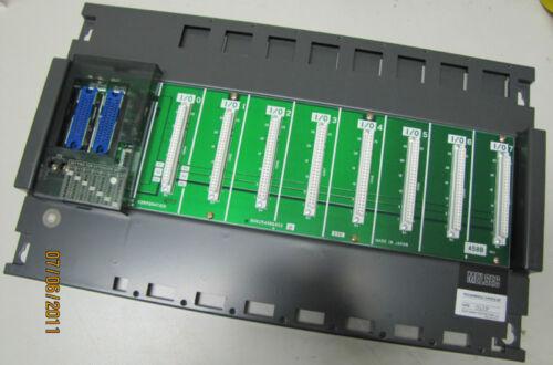 MITSUBISHI MELSEC PLC CARD RACK 8 SLOT BASE A58B A58-B