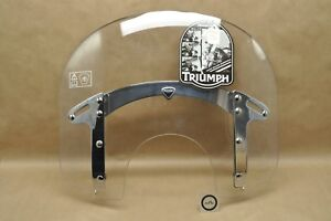 New Oem Triumph 11 16 Thunderbird Storm Quick Release Wind Shield