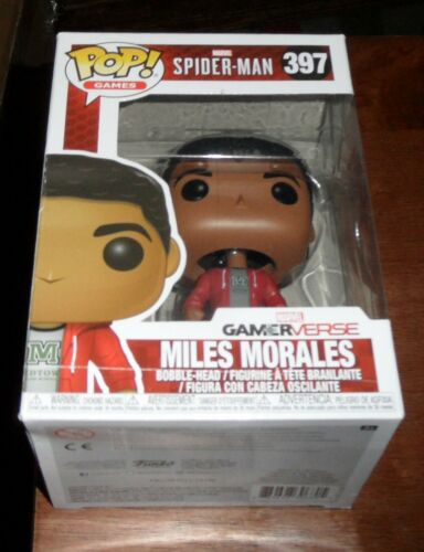 POP Games vinyle Marvel Spider-Man Miles Morales No.397 Funko Gamer verset nouveau