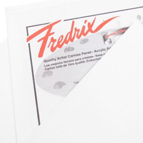 "Fredrix White Primed Canvas Panel 10x10/"" Approx 25x25cm Artist Oil /& Acrylic"