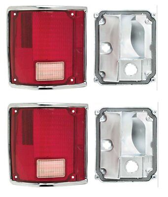 Right Hand Side #5959942 1968 Camaro RS Replacement Tail Light Bezels