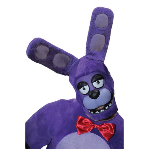 Adult Bonnie the Bunny 3//4 Costume Mask
