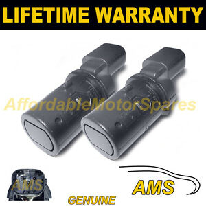 4X FOR PEUGEOT 807 PDC PARKING DISTANCE REVERSE SENSOR STRAIGHT BODY TYPE 40301S
