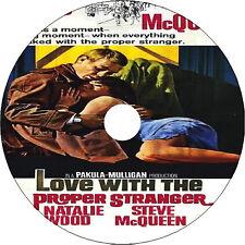Love with the Proper Stranger DVD Natalie Wood Steve McQueen Tom Bosley Rare
