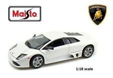 Maisto Lamborghini Murcielago LP640  - 1:18 scale - brand new in box - white