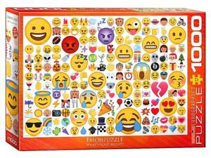 EuroGraphics Jigsaw Puzzles Deluxe 1000 Emoji Puzzle EMOJIPUZZLE WHATS YOUR MOOD