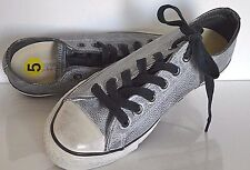 Converse X by John Varvatos CT OX 150171C Wrinkled Leather  Size 7(W) 5 (M) NWOB