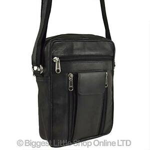 Gents Bag New By Handy Black Manbag Leather Cross Body Travel UVpSzMGq