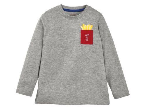 BZ Lupilu Ragazzi manica lunga ragazzo abbigliamento bambini tshirt maglietta moda nuovo