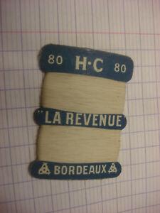 ANCIENNE CARTE A FIL lin H C LA REVENUE Bordeaux ceEZYmIJ-08030631-544392240