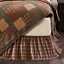 CROSSWOODS-QUILT-SET-choose-size-amp-accessories-Primitive-Plaid-Check-VHC-Brands thumbnail 11