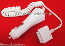 12V Car Lighter Plug Charging Charger Cable Cord Wire iPhone 4 4S iPod 4th Gen