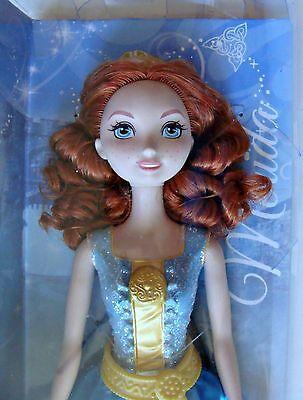 "Disney Brave Princess Merida Doll 12"" Pixar Scottish NIB Sparkling 2013 Mattel"