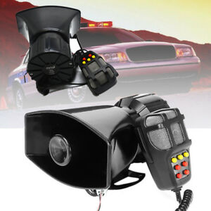 12V 7 Sound Car Truck Loudspeaker 300dB Horn PA System