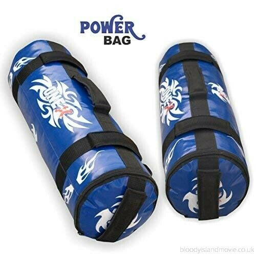 10kg Power Bag zipper Marlo Sand Bags 20 Straps Lifting Bag Training Shift Gel