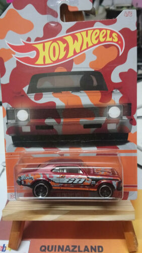 Hot Wheels Camouflage /'68 Chevy Nova N4