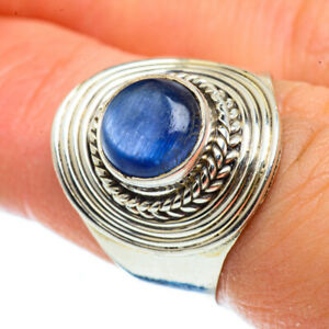 Kyanite 925 Sterling Silver Ring Size 7.25 Ana Co Jewelry R42839F