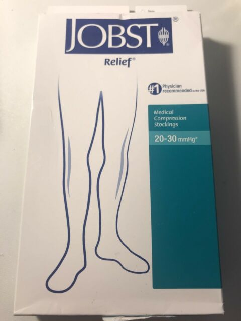 Jobst Relief Medical Compression Stockings 20-30 mmHg Sizes L and XL|ENDING SOON